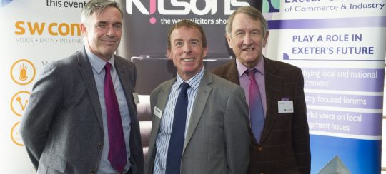Kitsons Solicitors - Exeter Chamber of Commerce Launches New Website