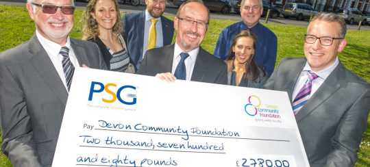 Kitsons Solicitors - Exeter's Legal Community Raises £2,780 for City Tribute