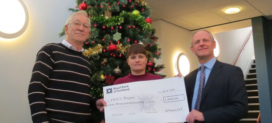 Kitsons Solicitors - Kitsons Christmas Quiz raises £1,000 for Torbay Charity