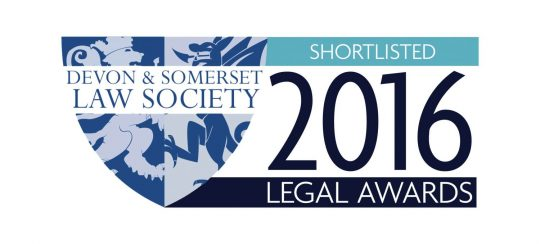 Kitsons Solicitors - Shortlisted for DASLS Legal Awards 2016