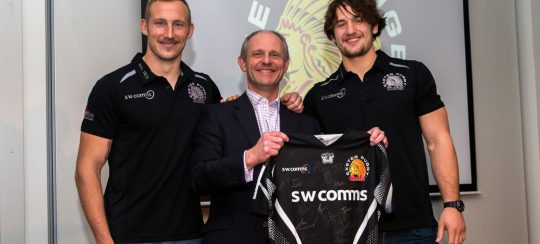 Kitsons Solicitors - Exeter Chiefs Players Hijack Sponsors Night