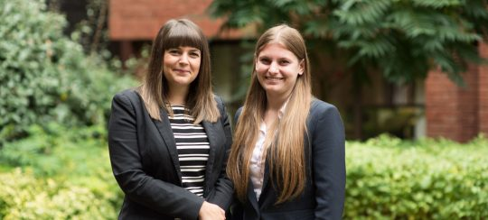 Kitsons Solicitors - Devon law firm trainees celebrate qualification