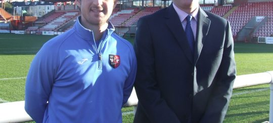 Kitsons Solicitors - Kitsons Launch Charity Wills Scheme at Exeter City Football Club