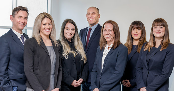 Kitsons solicitors group shot
